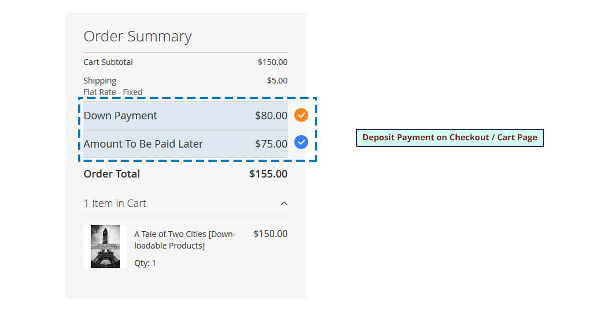 Deposit Payment M2