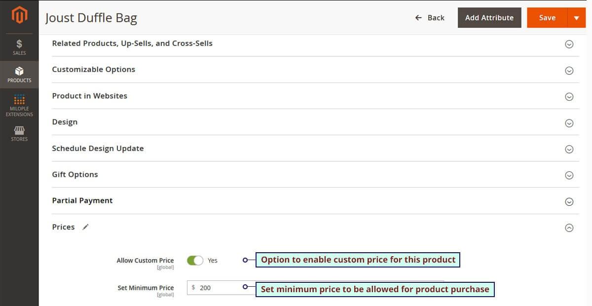 Custom Price M2