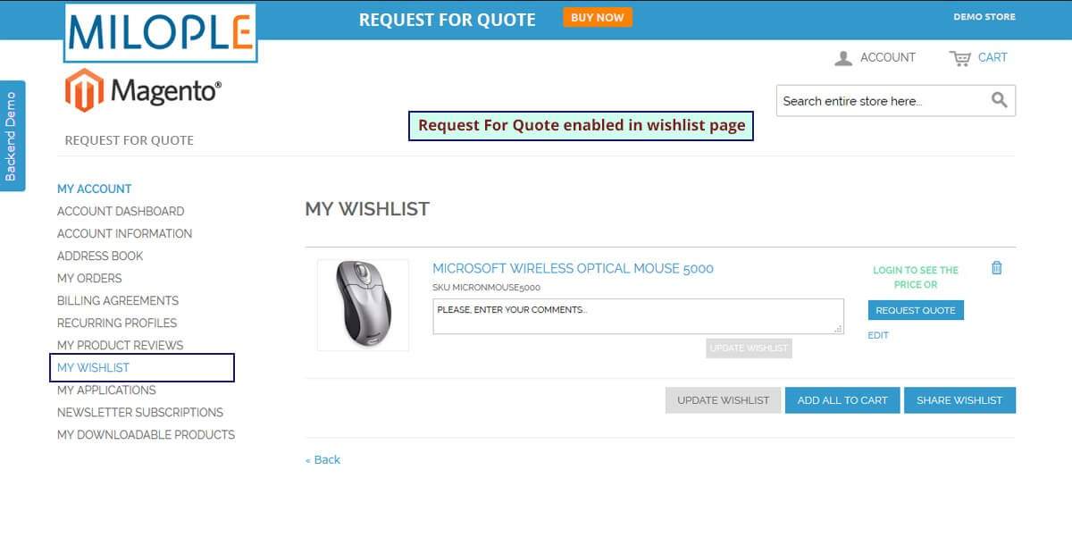 Request For Quote Captivating Request For Quote Magento Extension Hide Product Price  Milople