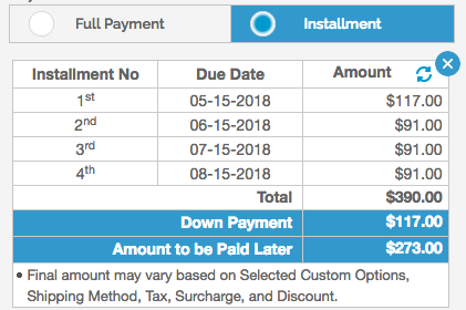 magento partial payment extension magento layaway milople