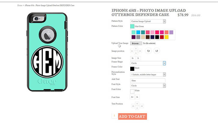 ADVANCED PHONE CASE CUSTOMIZER WITH READY TO PRINT PDF